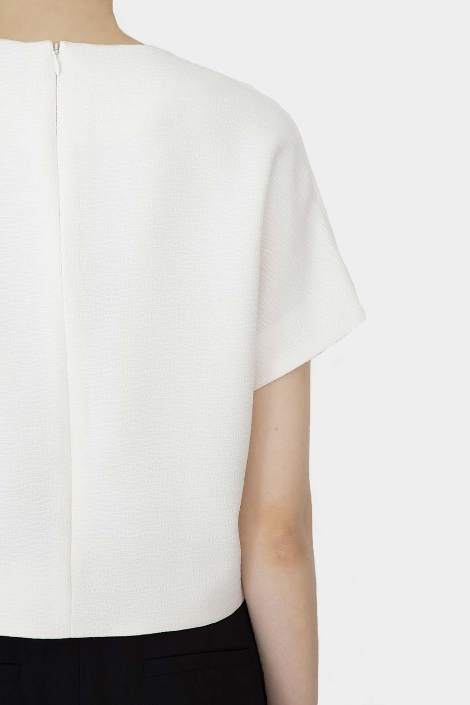 WHITE STINA SHORTSLEEVE TOP