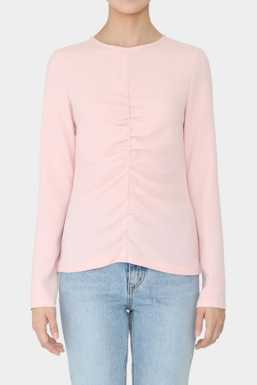 PETAL SIV FRONT GATHERED TOP