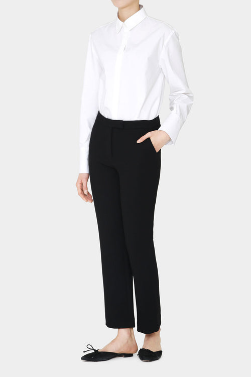 BLACK LANA KICK FLARE PANTS
