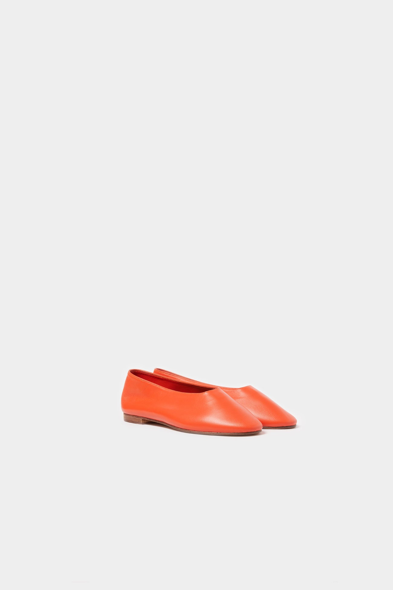 POPPY FAENA DAY LEATHER FLAT