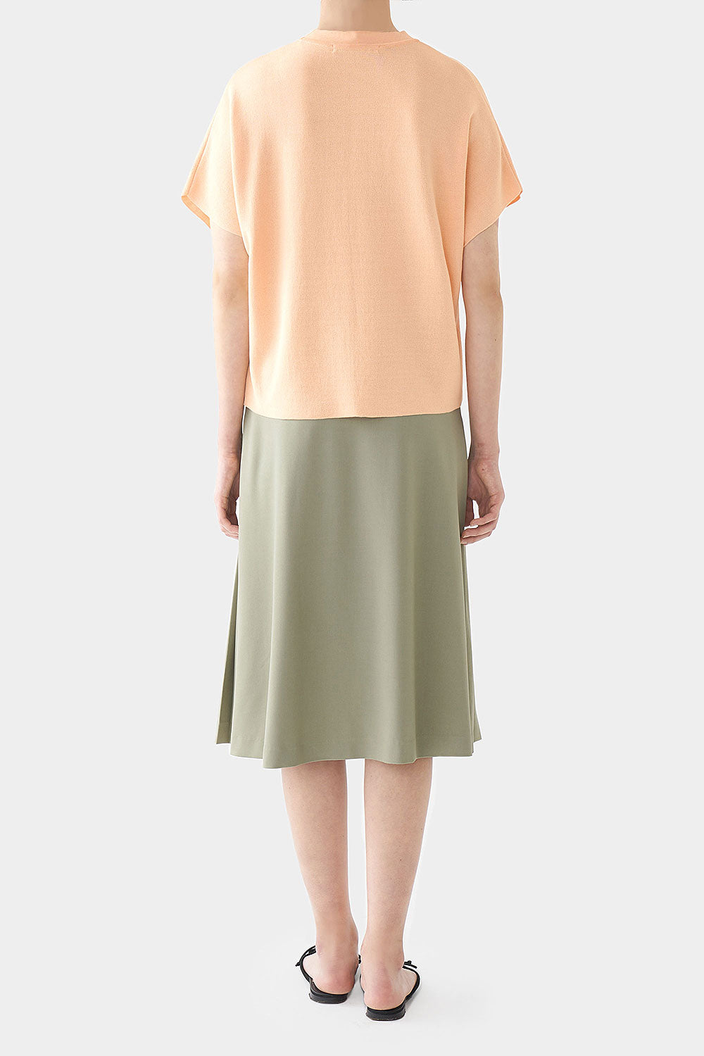 PEACH ANI PERFECT HIGH NECK TOP