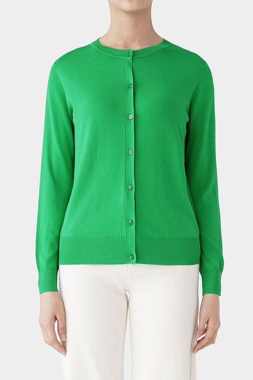 APPLE GREEN OPIE SUMMER CARDIGAN