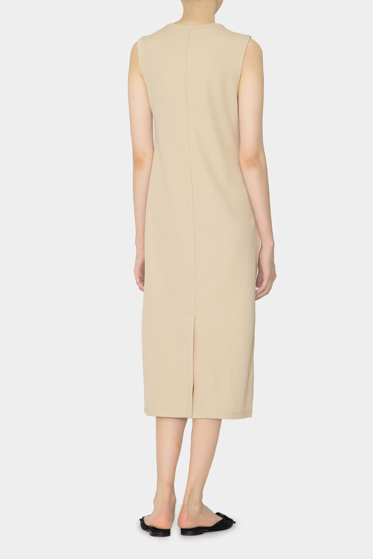 BEIGE BREE DAY LONG DRESS