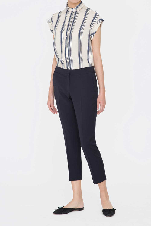 MIDNIGHT JENNA TAILORED PANTS
