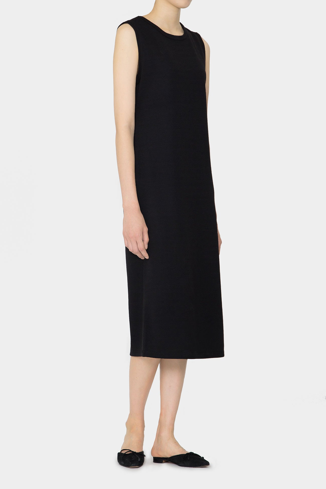 BLACK BREE DAY LONG DRESS