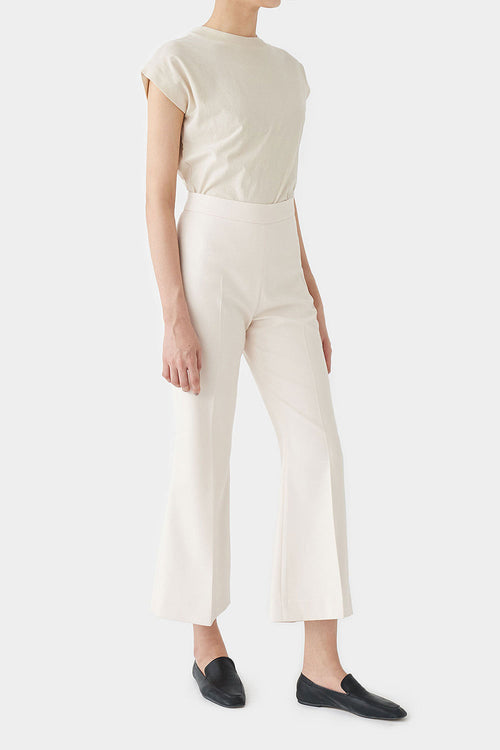 IVORY TALLIE FLARED PANTS