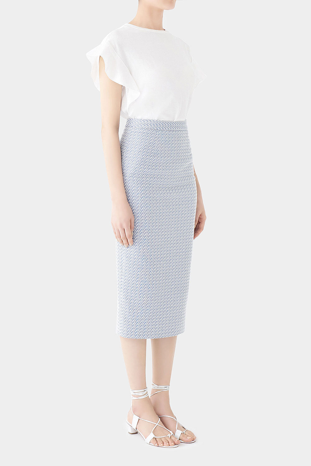 CLOUD NORA LONG POM POM SKIRT