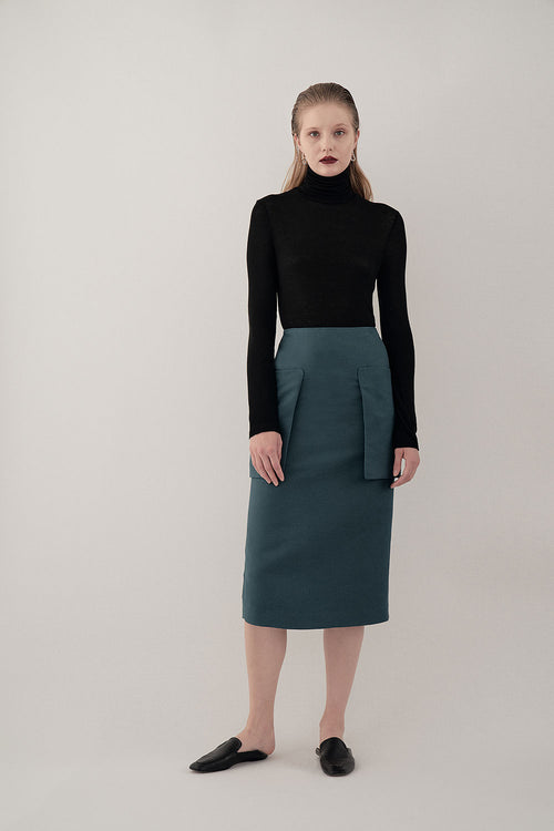 BLACK NOMA LIGHT TURTLENECK