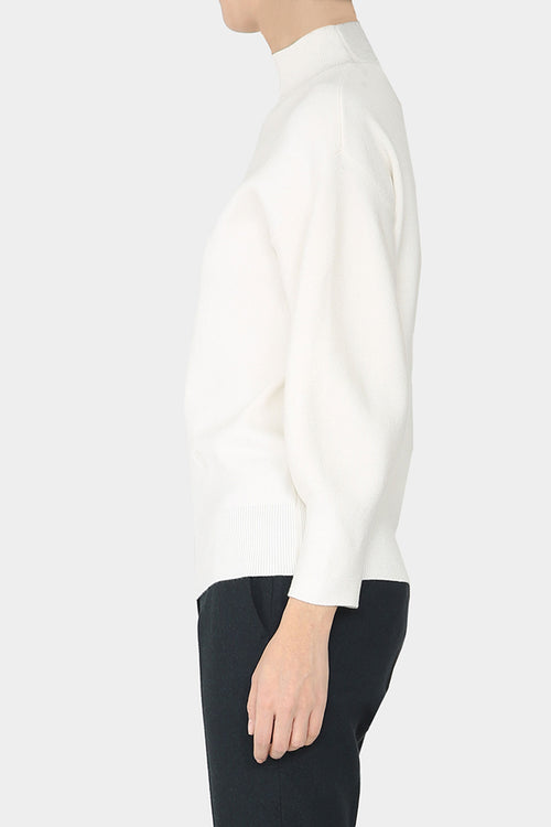 IVORY SADA BALLOON SWEATER