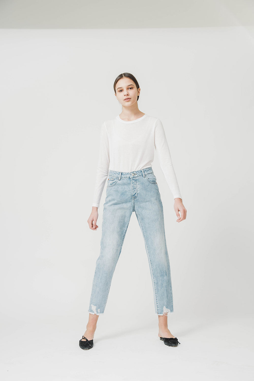 FREJA HIGHRISE VINTAGE DENIM