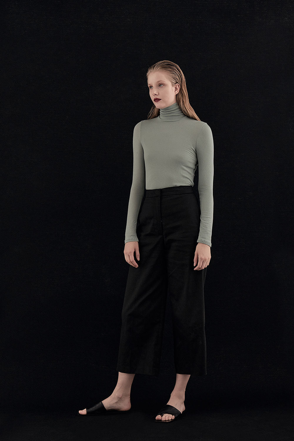 FADED MINT NOMA LIGHT TURTLENECK