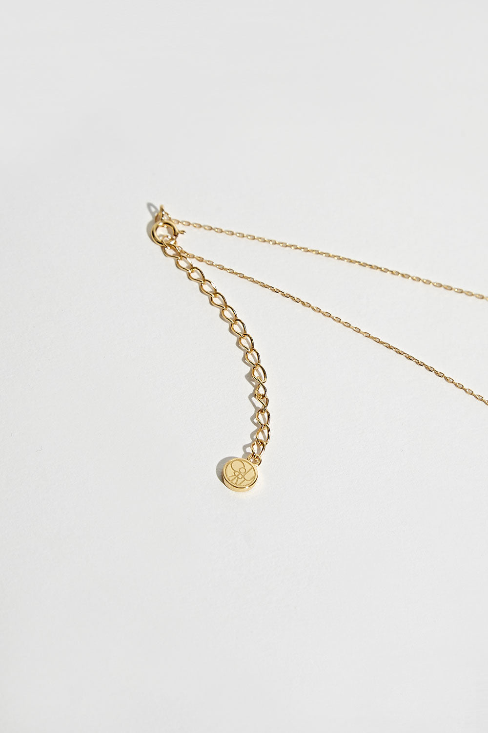 GOLD LOU SINGLE BALL NECKLACE