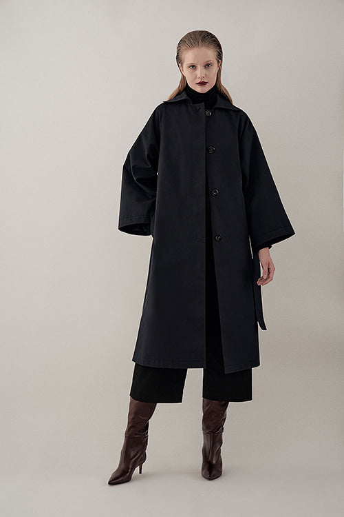 NAVY MIA DAY TRENCH