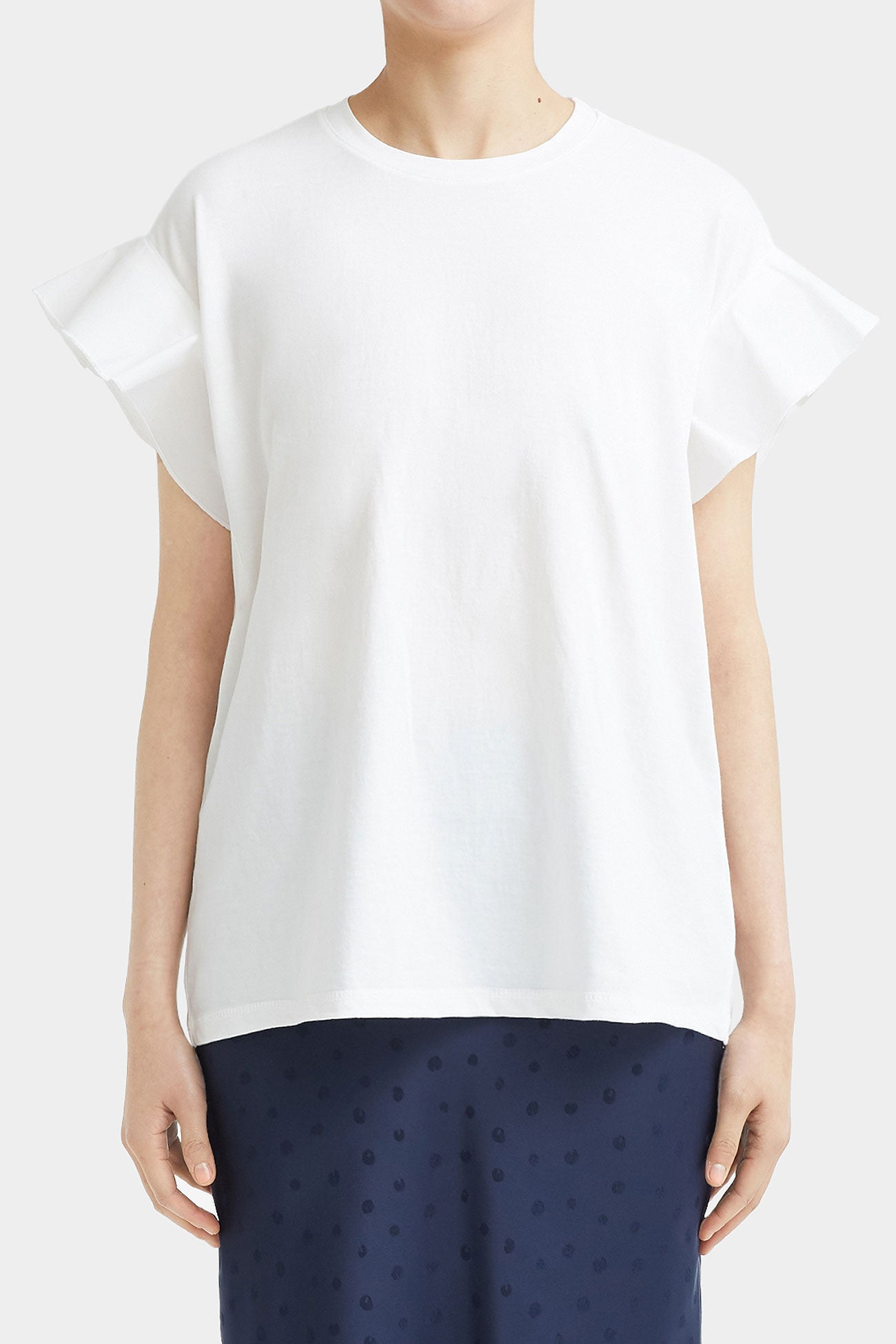 WHITE DIADRA WING T-SHIRT