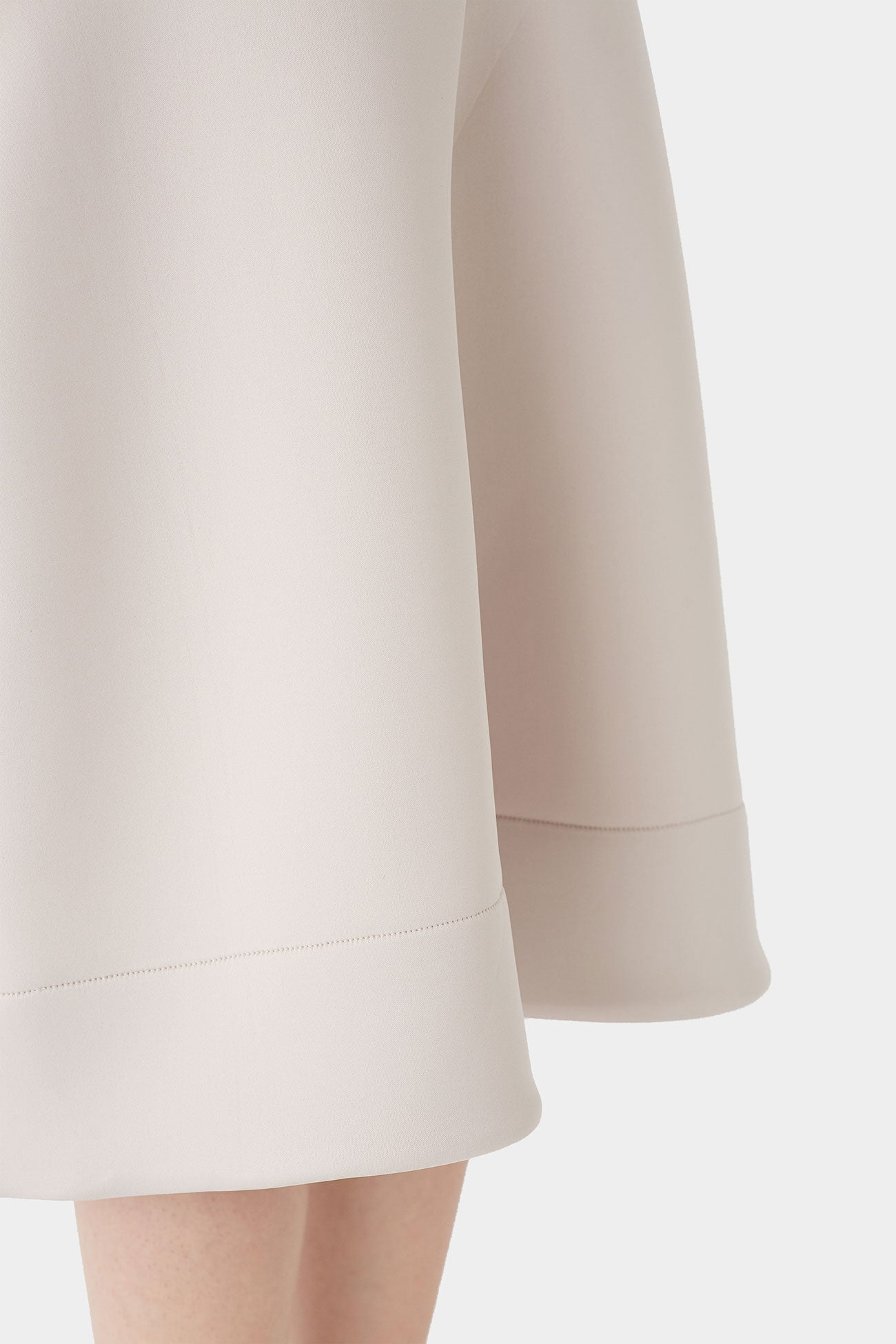 DOVE FINN NEOPRENE BALLOON SKIRT