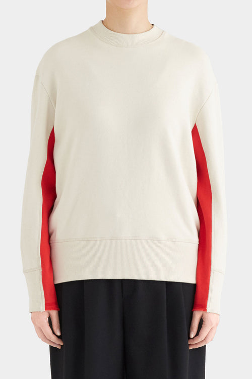 JEANY THREE TONE SWEATSHIRT
