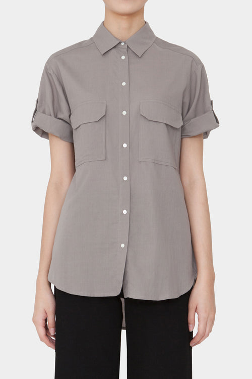 GREY EMMA SHORTSLEEVE SHIRT