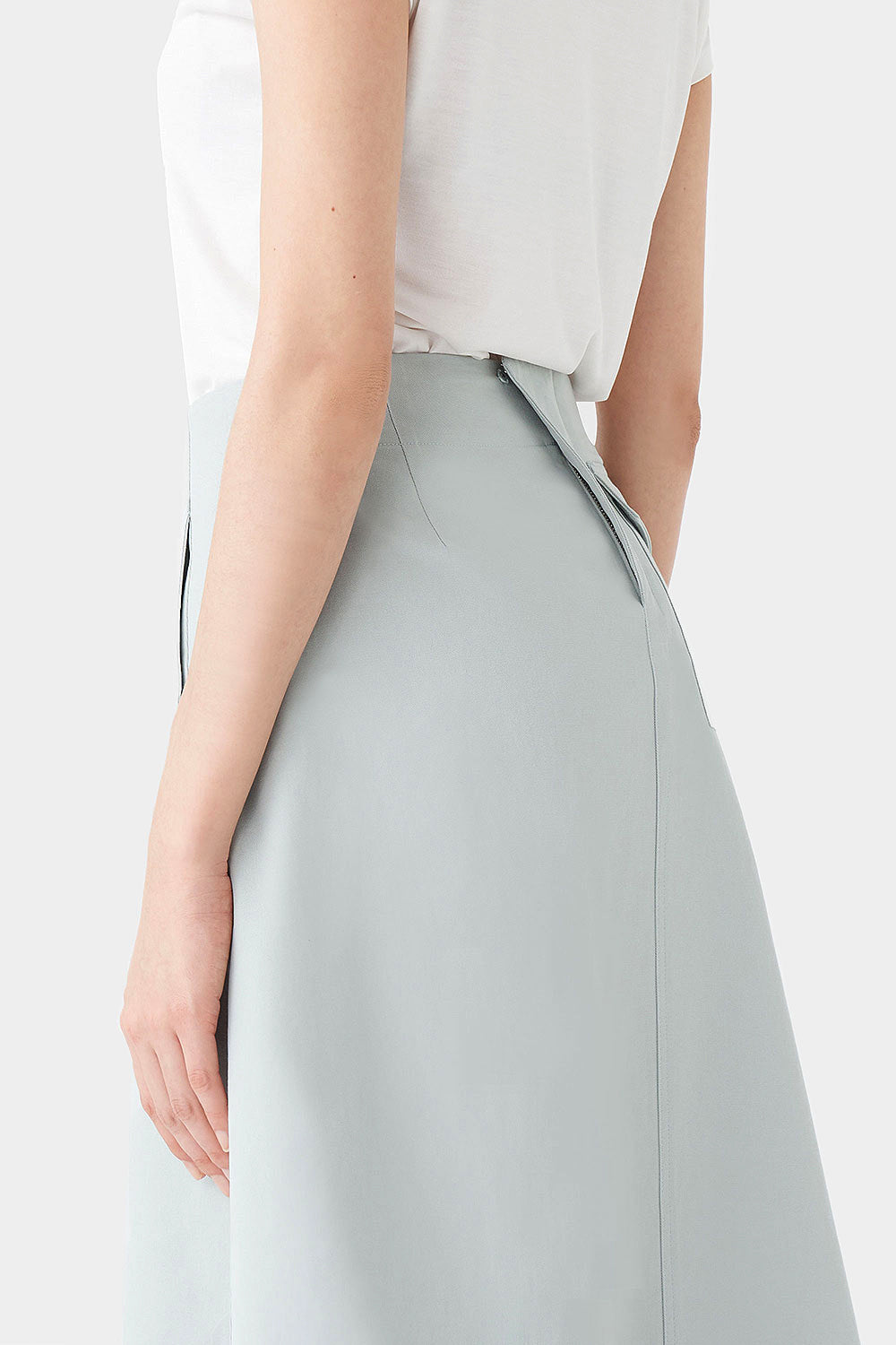 WIND WILKO COTTON STITCH SKIRT