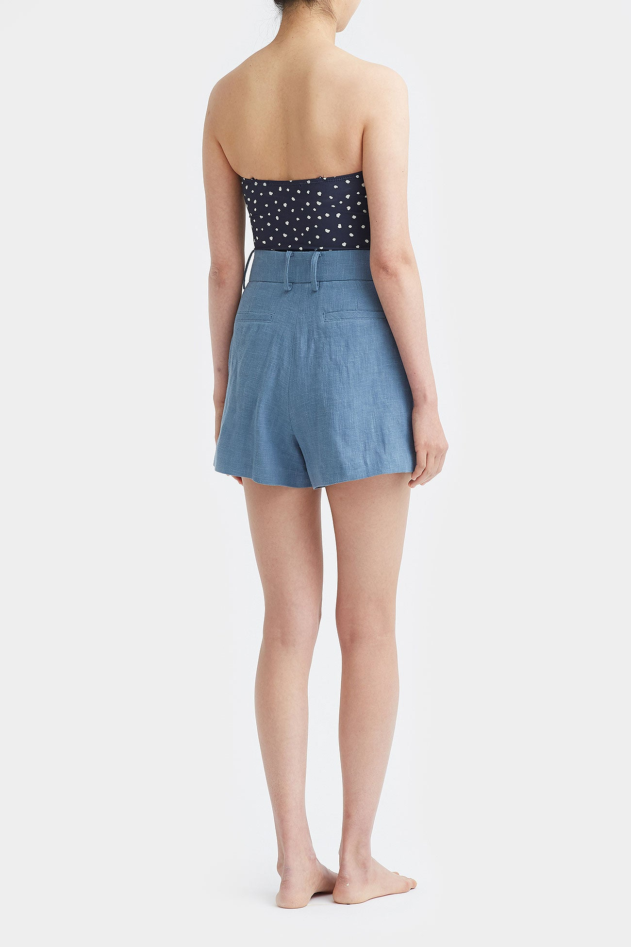 CLOUD EVA LINEN TIDY SHORTS