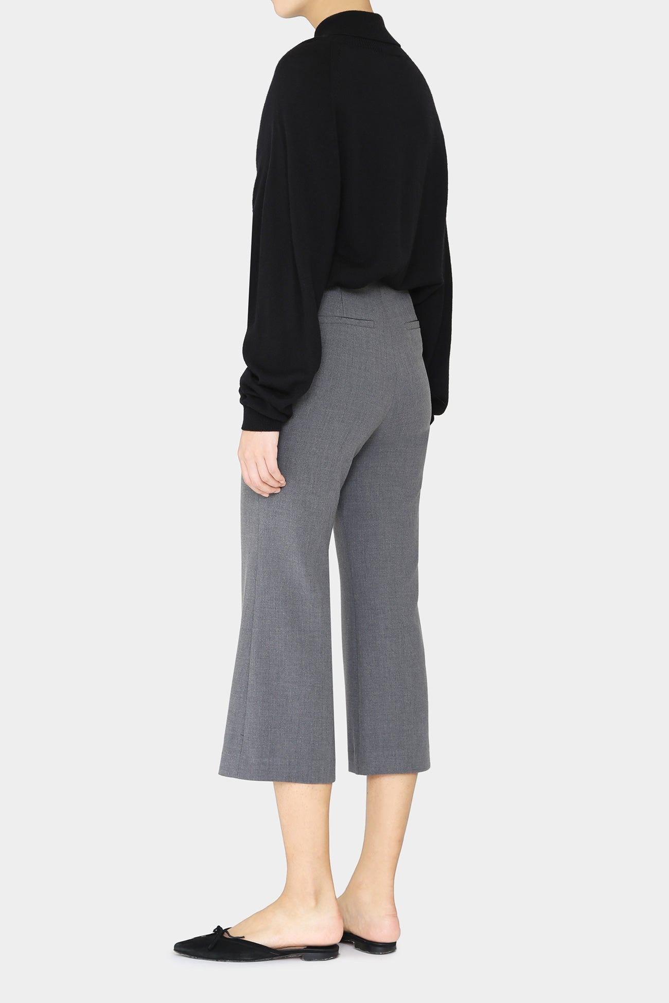 GREY IVY FLARE PANTS
