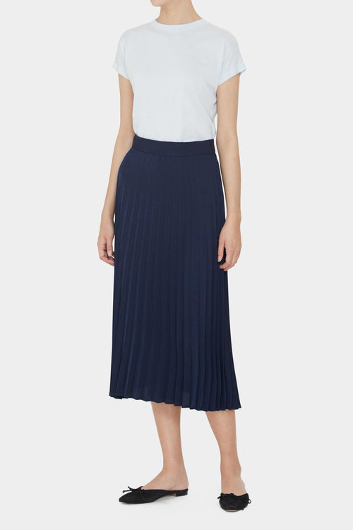 MIDNIGHT LILY PLEATED TAILORED SKIRTS