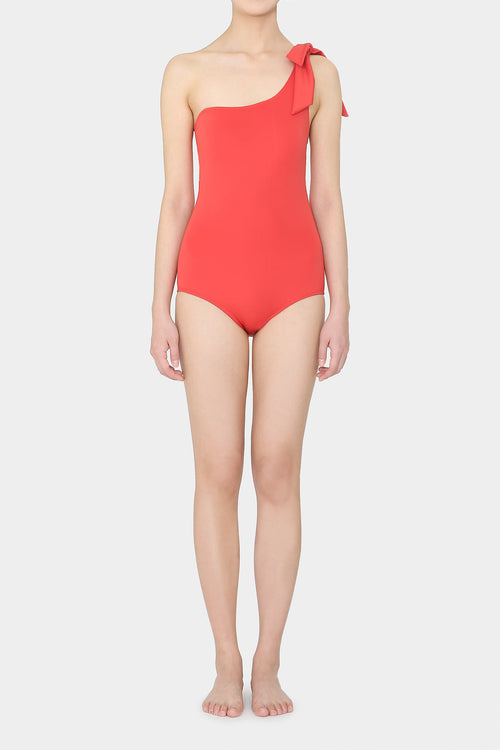 CORAL OLA RIBBON SWIMSUIT