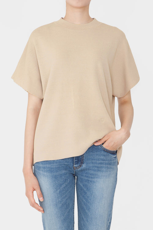 LATTE ANI PERFECT HIGH NECK TOP