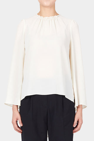WINE EMMA CREPE SHIRT