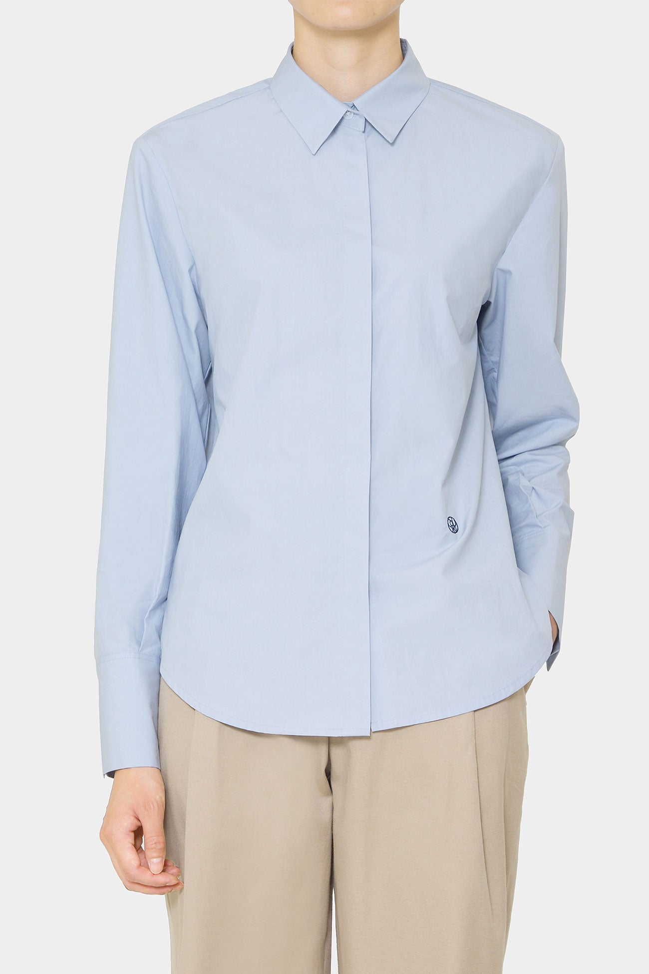 SKY MERCER LOOSE BUTTON SHIRT