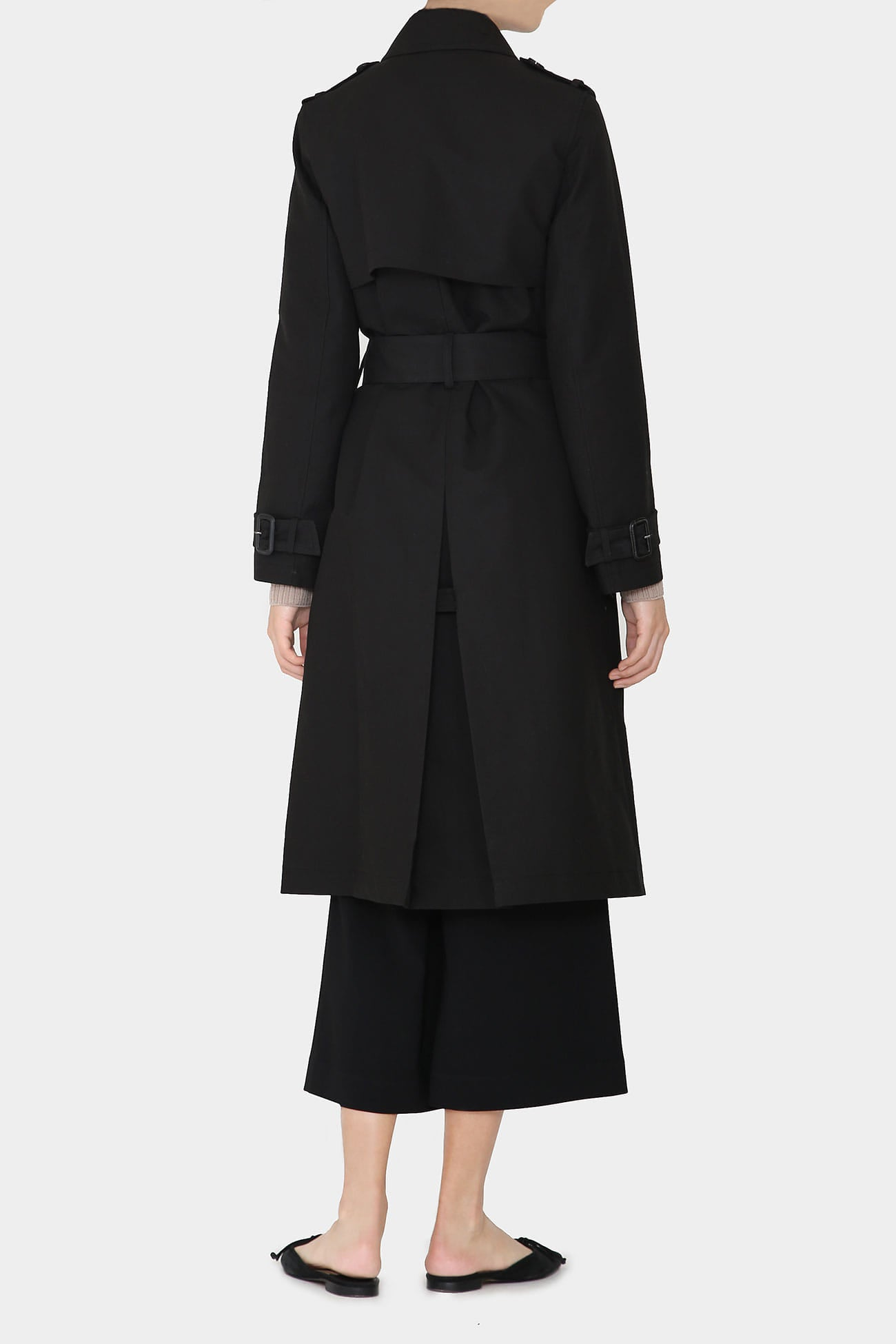 BLACK LOIS CLASSIC COTTON TRENCH