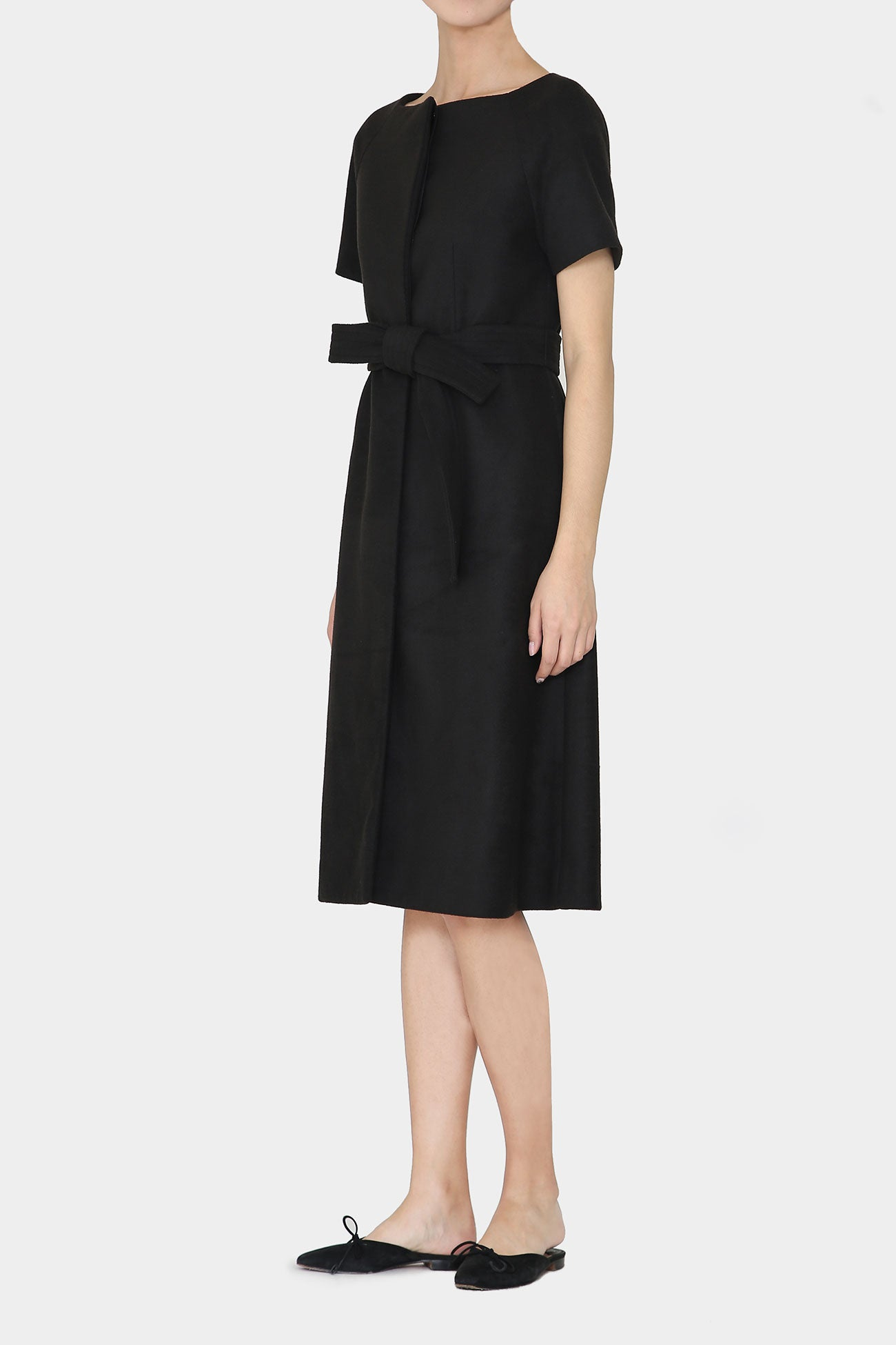 BLACK KARI TIDY DRESS
