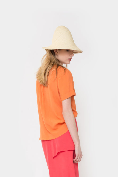 ORANGE KIS SHORTSLEEVE SHIRT