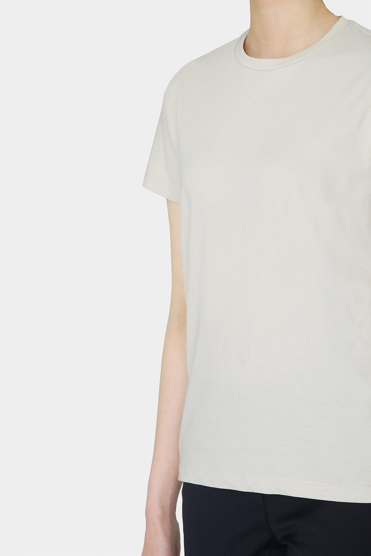 BEIGE VIN COTTON T-SHIRT