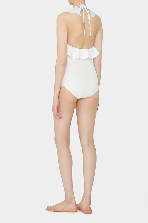 COCONUT IDA RUFFLE SWIMSUIT