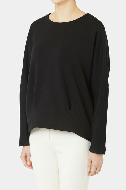 BLACK LINN LOOSE TOP