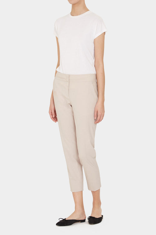 BEIGE REI PERFECT CARROT PANTS