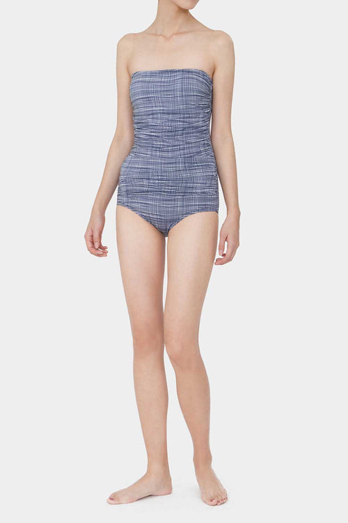 PLAID ROSIE SIMPLE SWIMSUIT