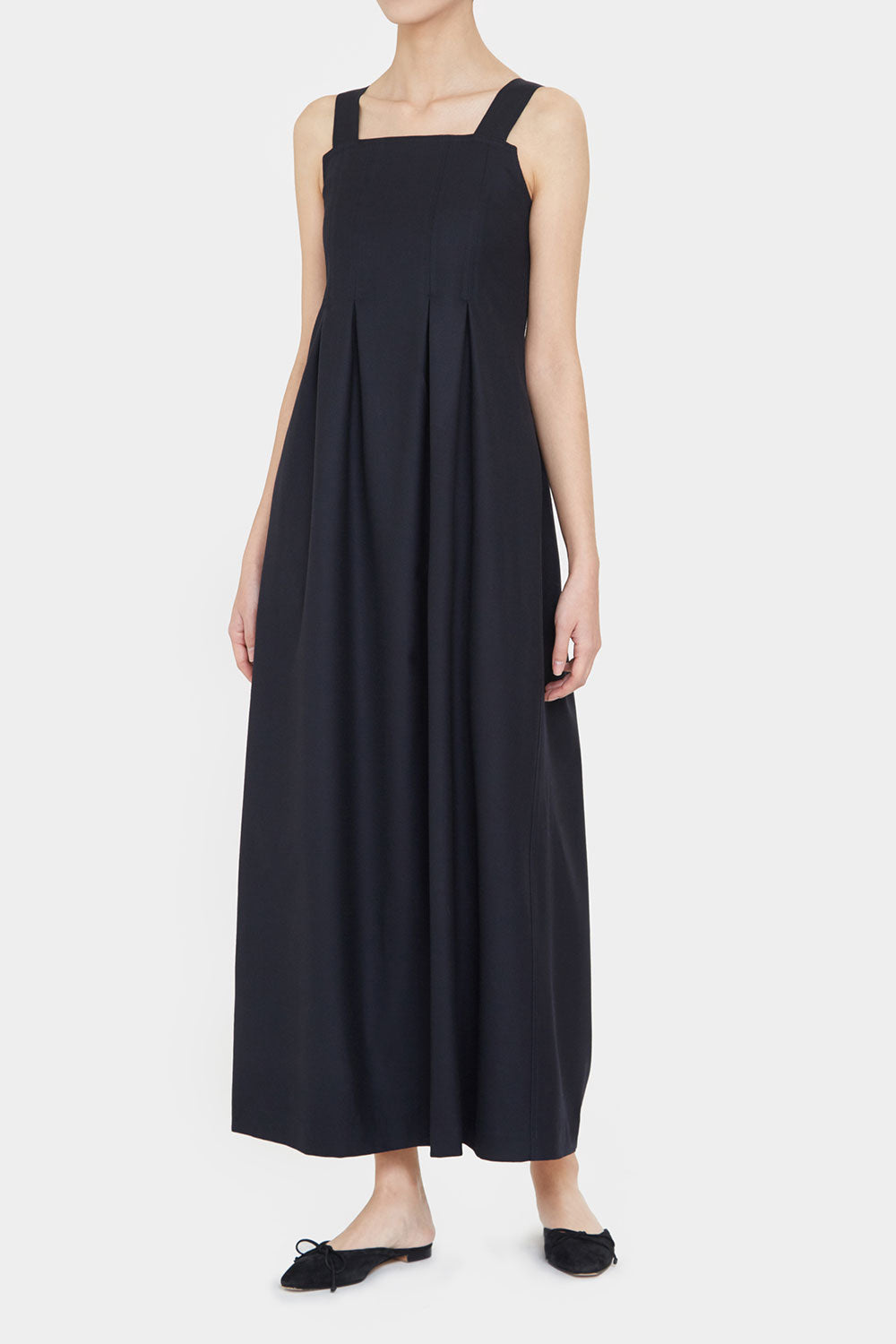 NAVY  KLOE LONG DRESS