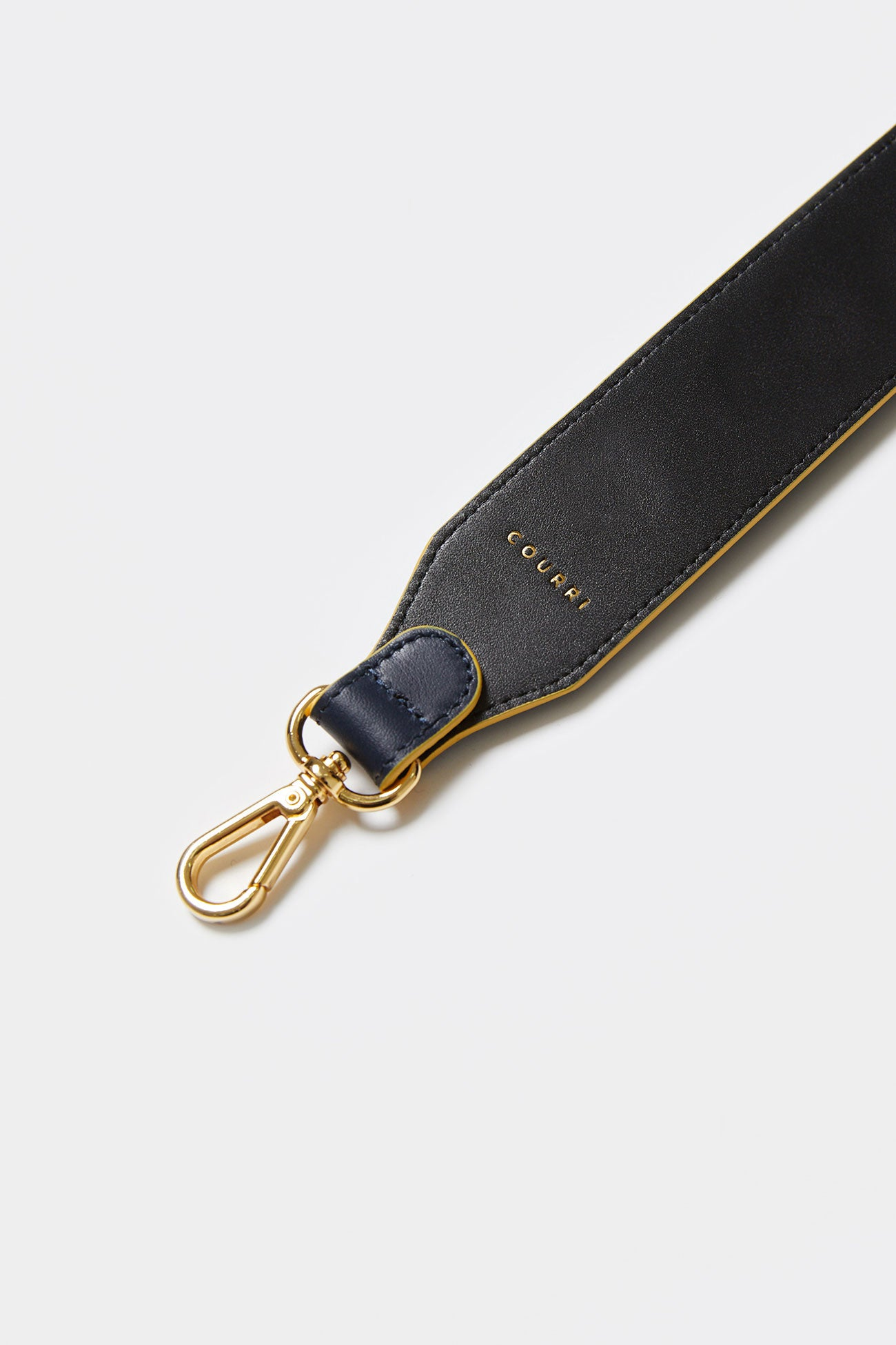 GREEN MULTI CODIE EMBELLISHED LEATHER STRAP [Long]