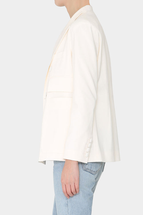 ALMA RAYON TWO POCKETED JACKET