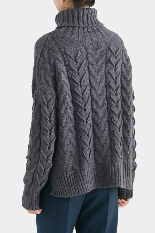DEEP SEA SIES CABLE KNIT