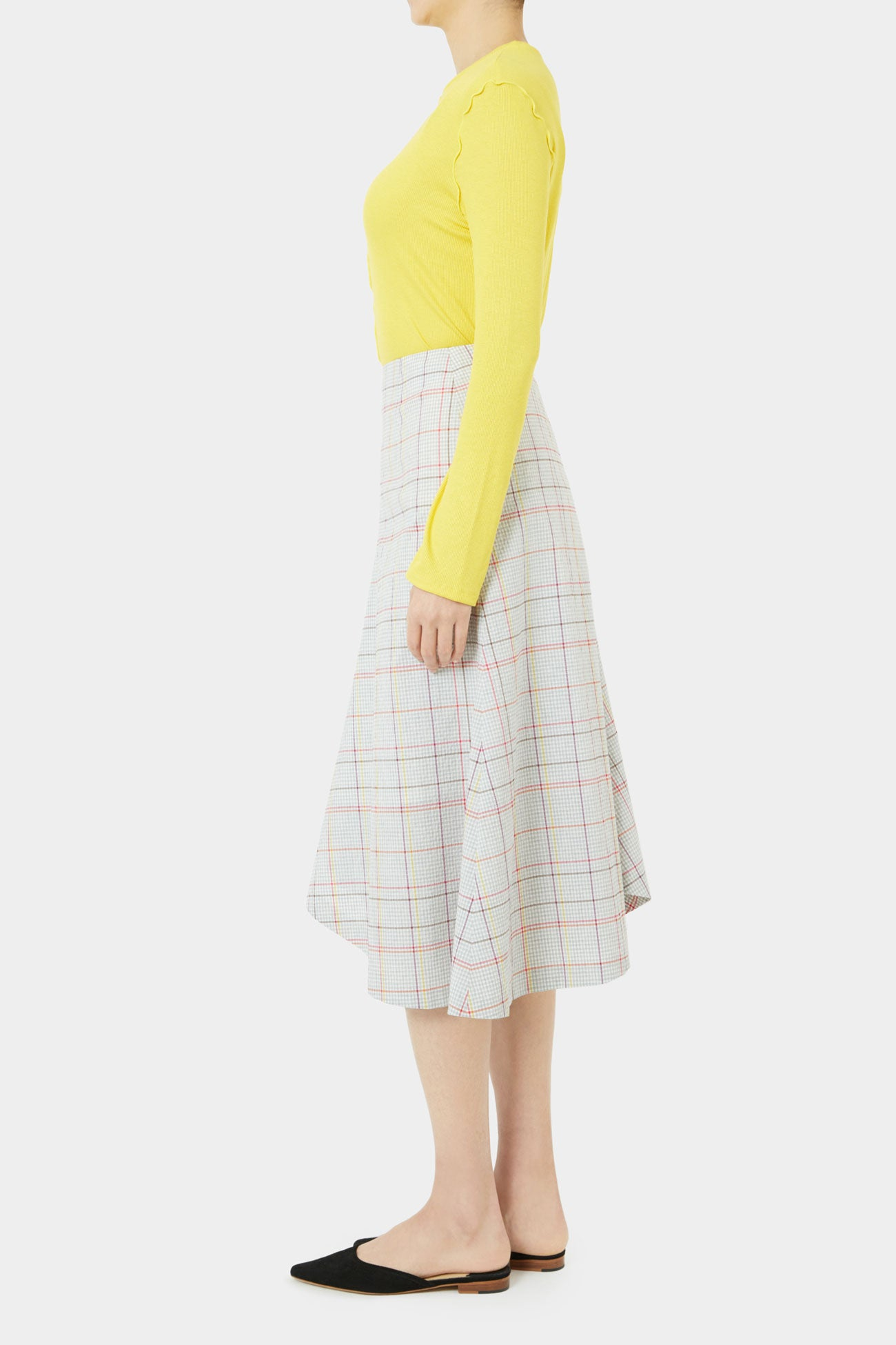 DAHLIA PLAID SKIRT