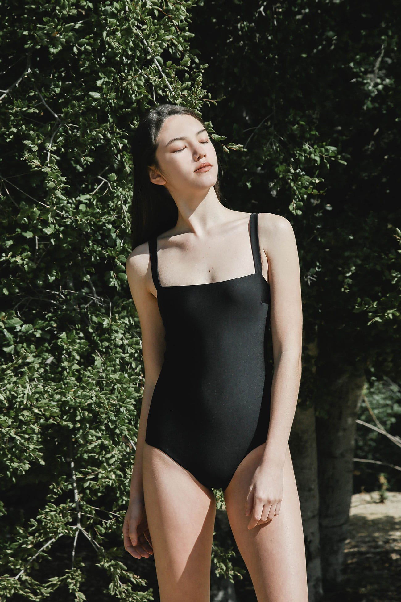 BLACK EMMA PLAY SWIMSUIT