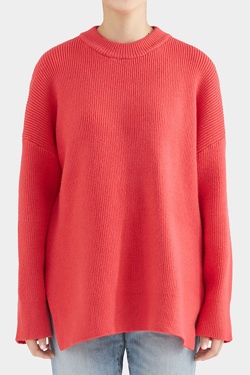 PINK GRACE SIDE SLIT KNIT