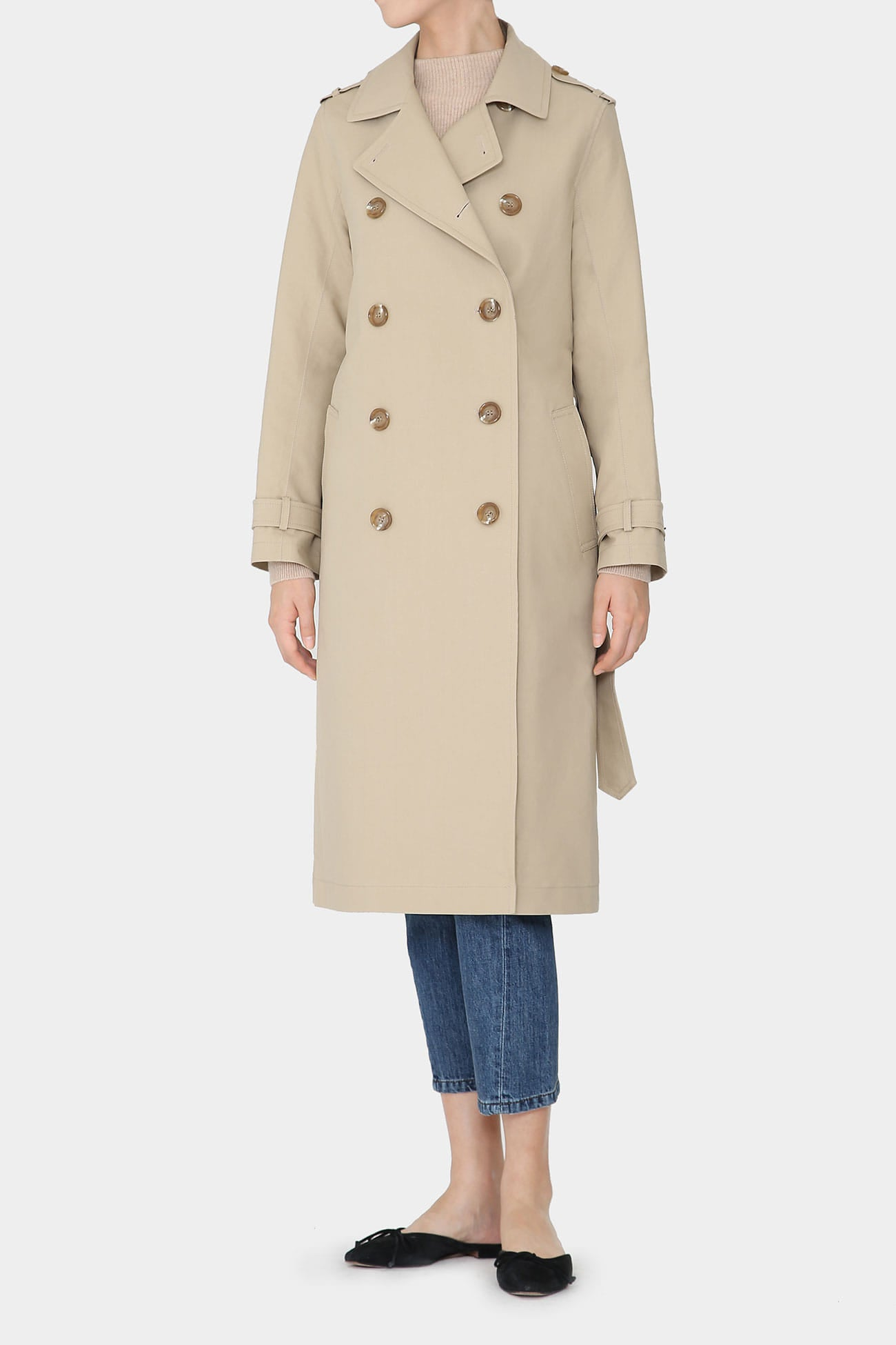 NATURAL LOIS CLASSIC COTTON TRENCH