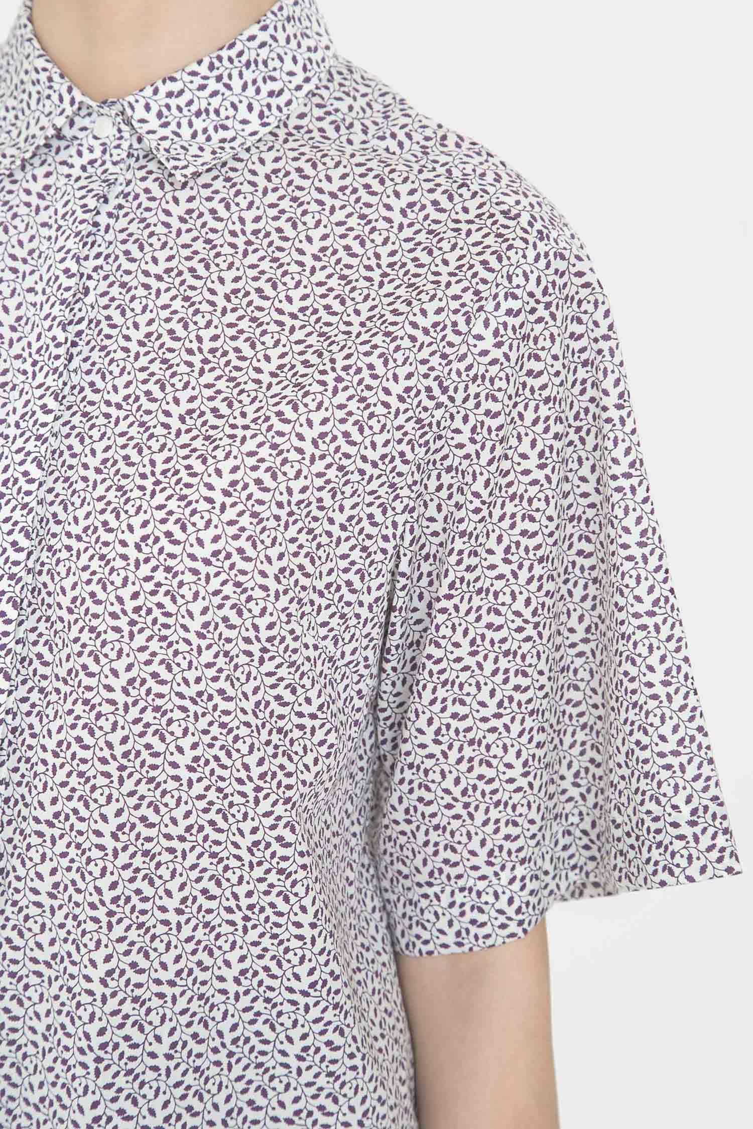 [COURRI x LIBERTY] VIOLET LIV SHORTSLEEVE SHIRTS