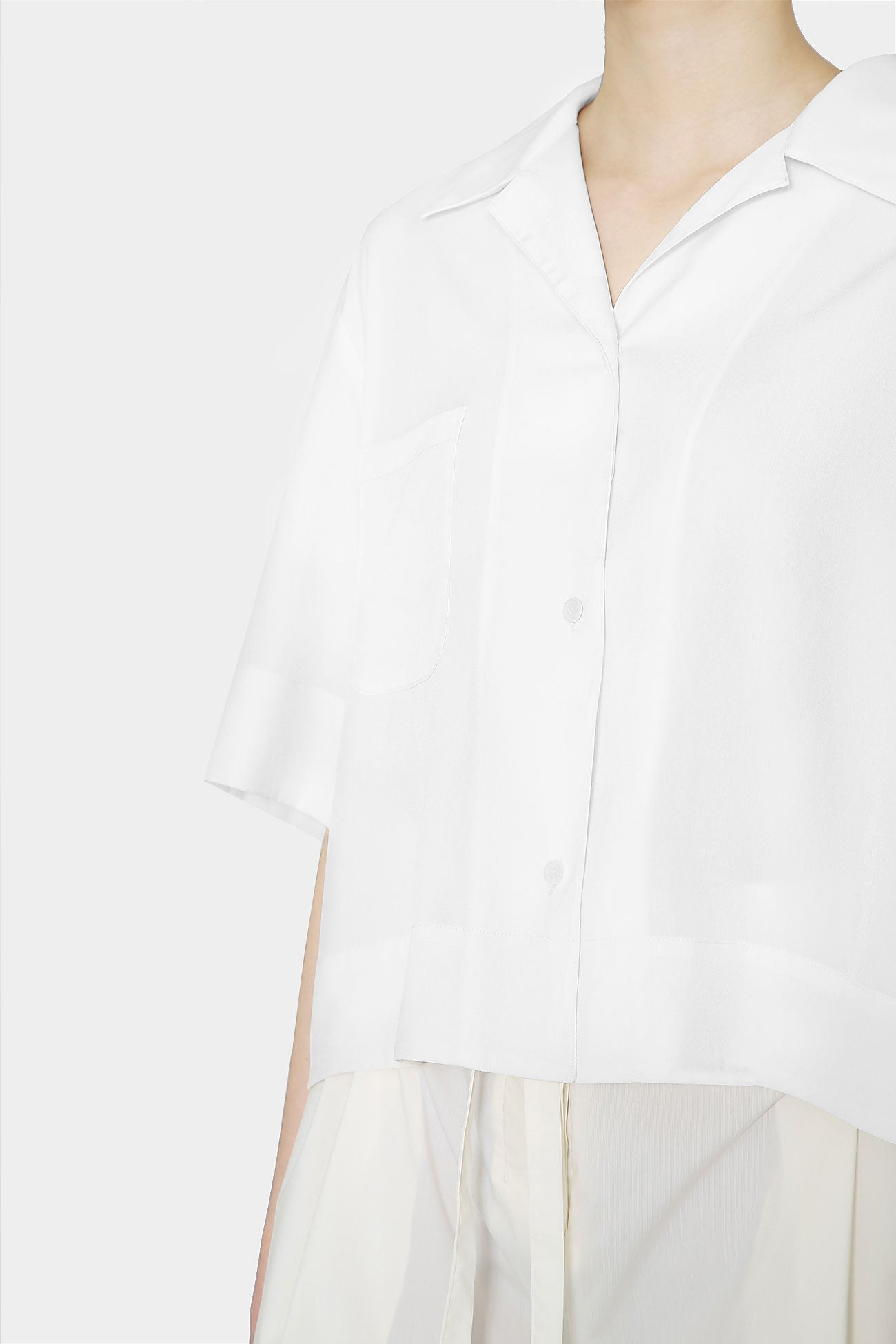 ANTIQUE WHITE CLAIRE DAY SHIRT