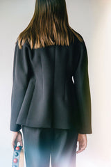 ERI PEPLUM BAR JACKET