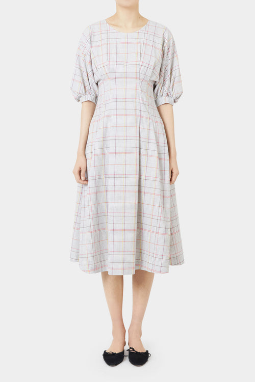 DARIA PLAID DRESS