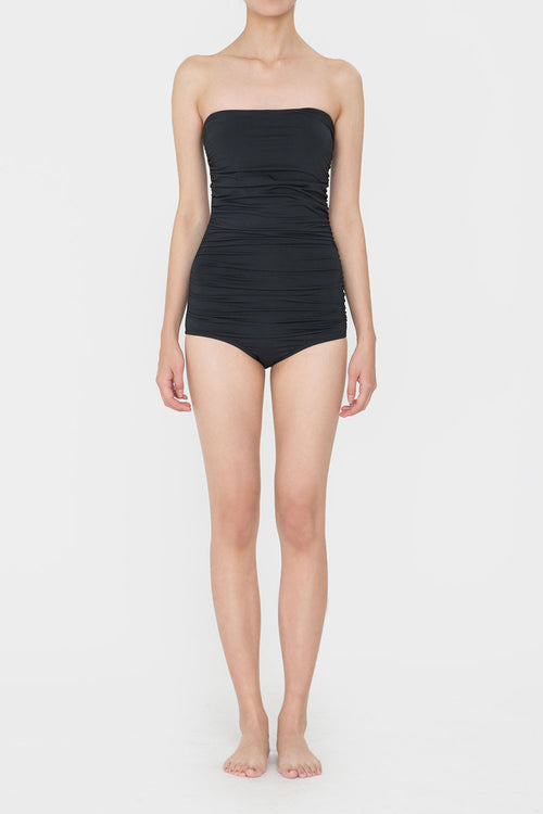 BLACK ROSIE SIMPLE SWIMSUIT